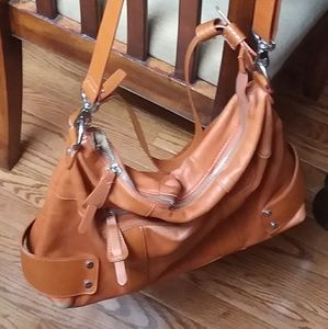 Pretty Wilson Leather shoulder/hobo bag